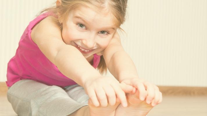 Yoga para crianças!