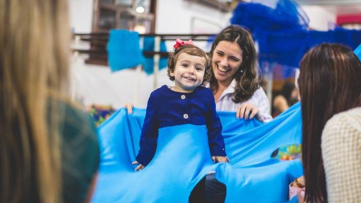 Dança Materna para mães com bebês andantes